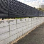 低いブロック塀とフェンス工で綺麗に。②(泉大津市)