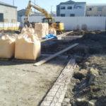 工場の新設工事に伴う掘削及び埋戻工  (表層改良)
