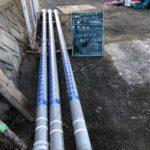 【公共工事】水道本管工事が竣工しました。